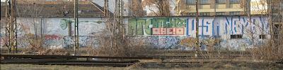 NTC, HE!, VISA, NÉMA, graffiti, bomba, falfirka, MÁV, Rákosrendező