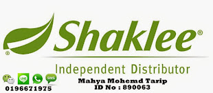 I'm Shaklee Indepent Distributor
