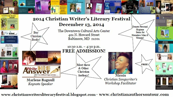 Join TAKE ACTION! Publishing at the 2014 Christian Writer's Literary Festival