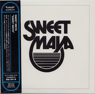 SWEET MAYA - SWEET MAYA (PP 1977) Korean mastering cardboard sleeve