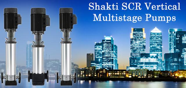 Buy SCR Shakti Vertical Multistage Centrifugal Pumps Online, India - Pumpkart.com