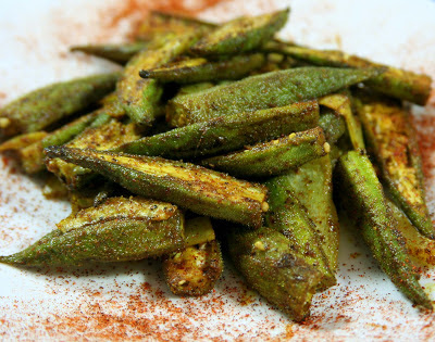 Culturally Confused: Allrecipes: Indian-Spiced Okra