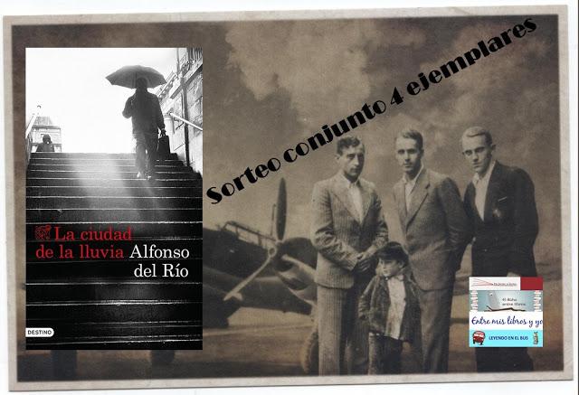 """SORTEO CONJUNTO """"LA CIUDAD DE LA LLUVIA"""" (ALFONSO DEL RÍO"""