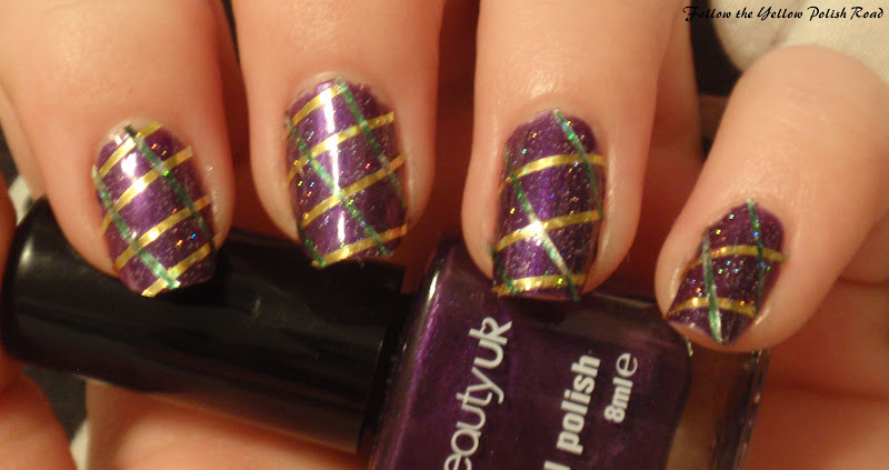 Magnificent Mardi Gras Nail Art Ideas Photos - Nail Paint Design ...