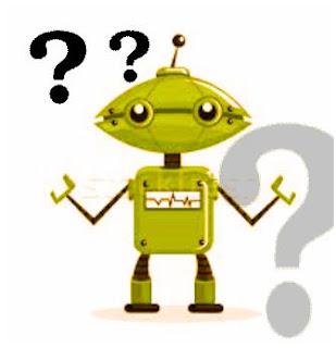 Ketika Robot pun menjadi Galau,robot,