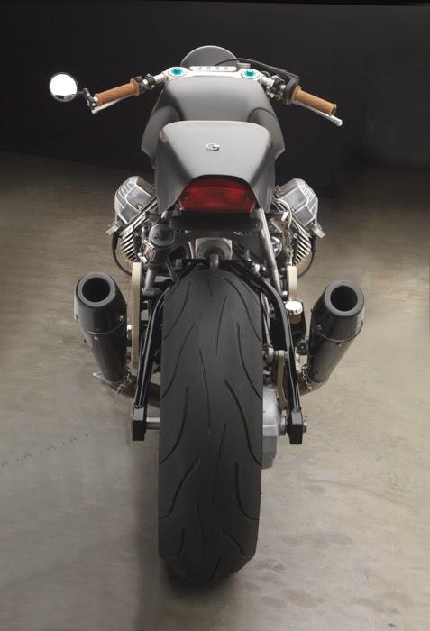 "Moto Guzzi ""Goldmember"" by Moto Studio"