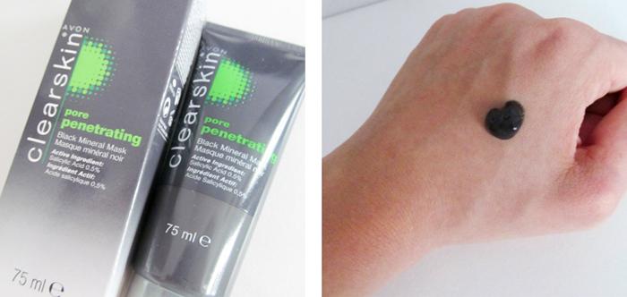 Avon Pore Penetrating Black Mineral Mask Review