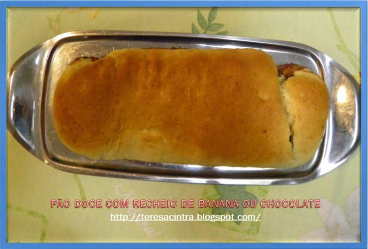 ROSCA DOCE COM RECHEIO