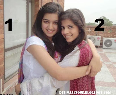 Beautiful Desi Girls On Roof Top