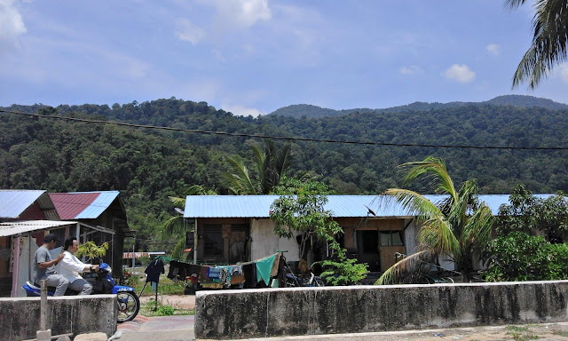 Tekek is a quiet little town on Tioman Island Malaysia