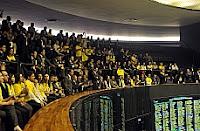 Público acompanhou votação nas galerias do Plenário. Luis Macedo / Câmara dos Deputados