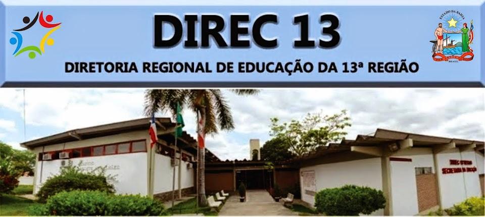 DIRETORIA REGIONAL DE EDUCAÇÃO | DIREC 13