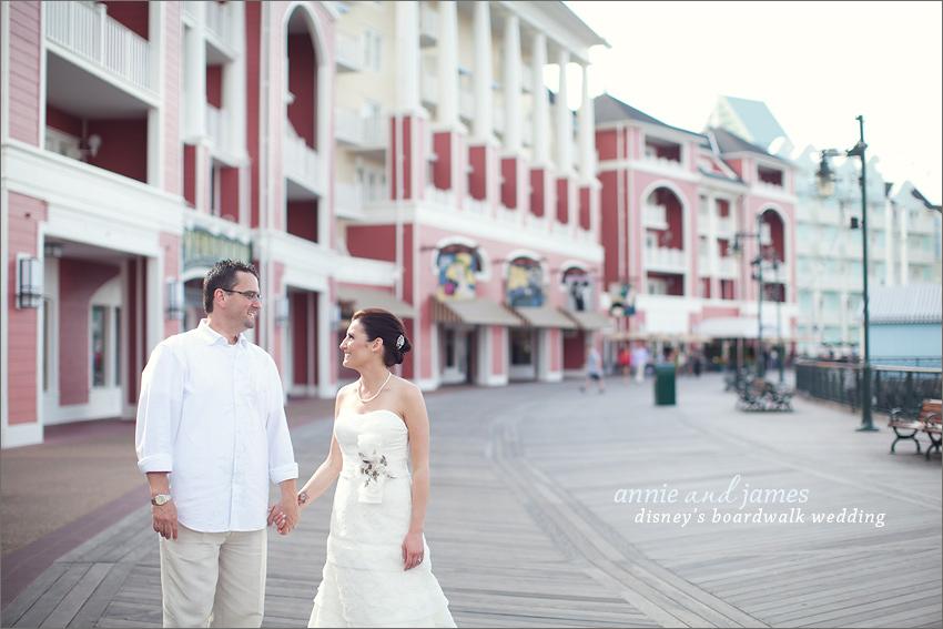 Disneys Boardwalk Wedding