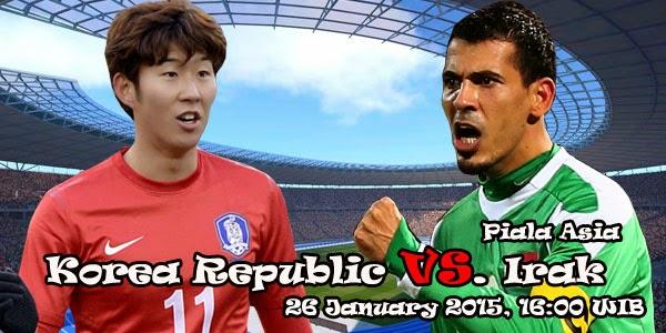 Piala Asia 2015 : Prediksi Pertandingan : Korea Selatan vs Irak