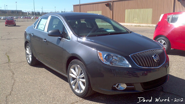 2012 Buick Verano, GM plant, production line, michigan