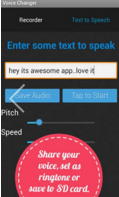 Voice Changer Latest Version 10000.10 Free Download for Android