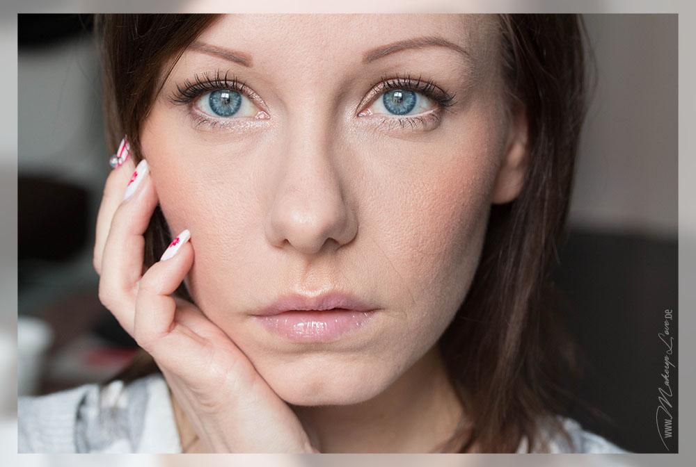 Valentinstag Makeup natürlicher Look AMU Augenmakeup EOTD FOTD