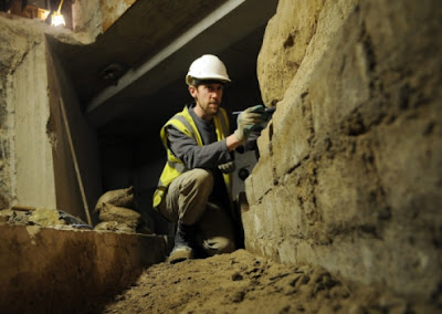 Roman road unearthed beneath York Minster