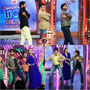 Shahid, Sonakshi, Prabhu Deva & Salman Khan