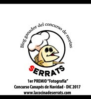 Blog ganador del concurso de recetas Serrats