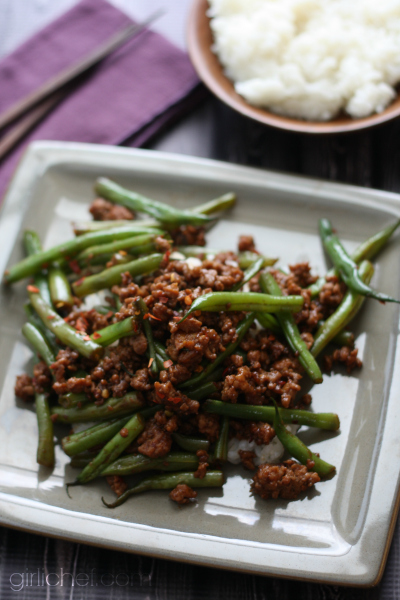 green beans fresh green beans one way green beans with minced pork ...