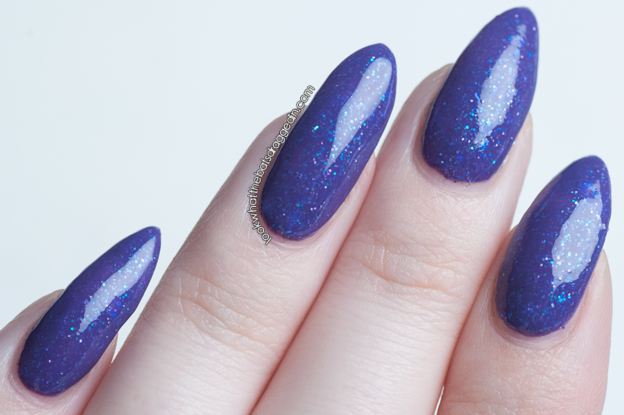 Shades of Pheonix Iridescent Adolescent by Muggle Manicures/Moonstone Nail Polish