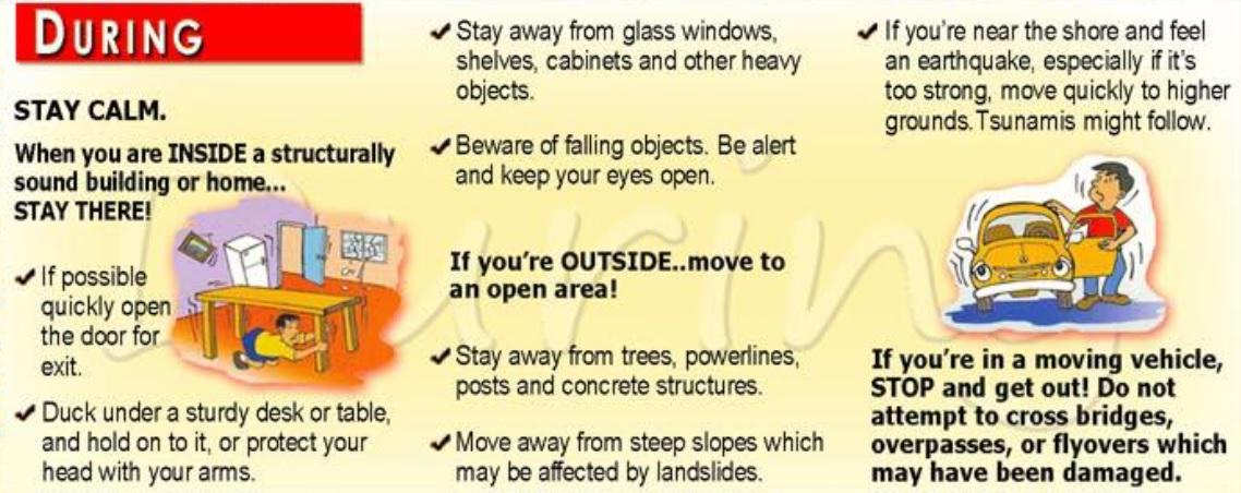 Precautions During Natural Disasters In Hindi