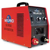 เครื่องเชื่อม Inverter WELPRO รุ่น WELARC 200