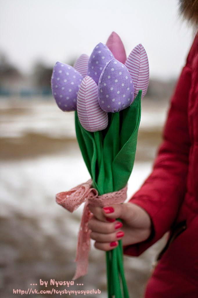 тильда тюльпаны