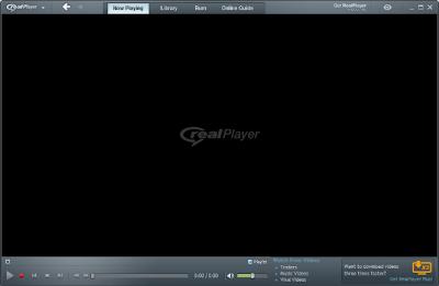برنامج ريل بلاير Real Player مشغل الصوتيات والمرئيات
