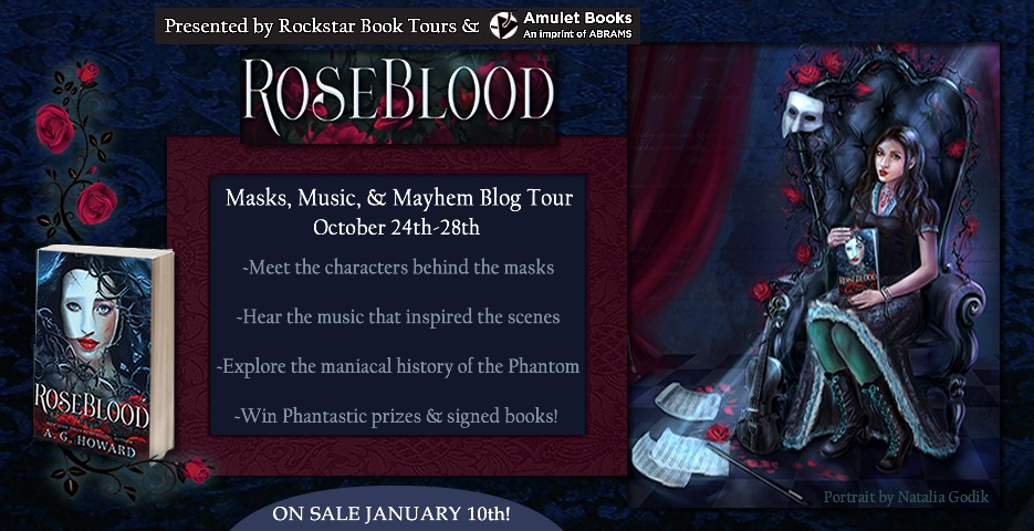 Blog Tour: Roseblood