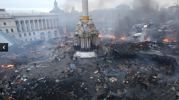 "Merkel, Obama, Putin serukan ""solusi politik"" di Ukraina"