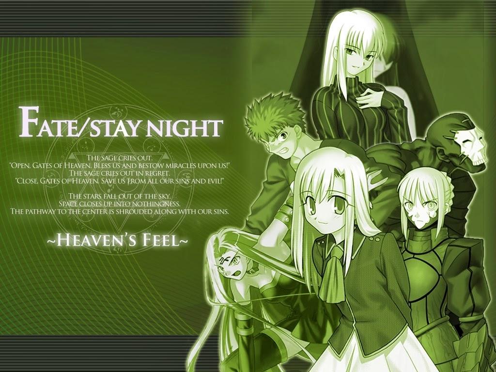 El Nuevo Fate/Stay Night Se Estrenara En Octubre 2014