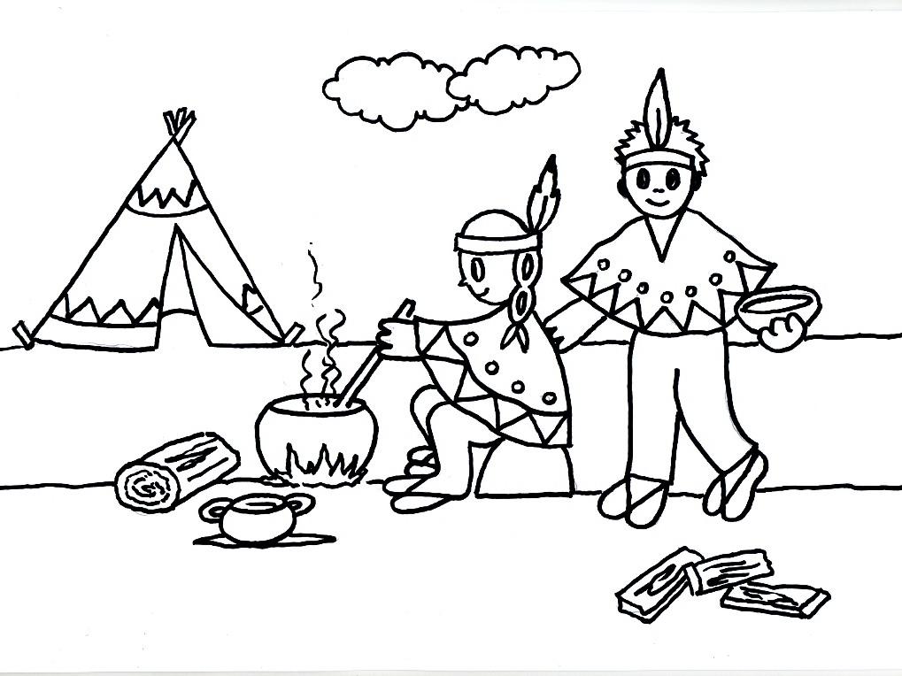 Desenhos para o dia do ndio atividades para colorir - Casa asia empleo ...
