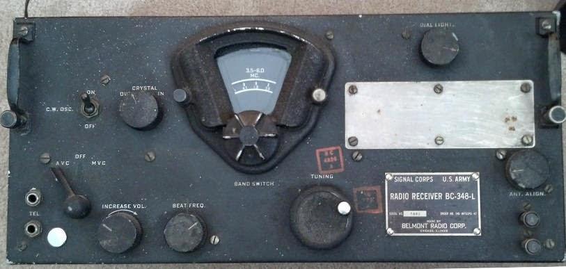 BC-348L Receiver