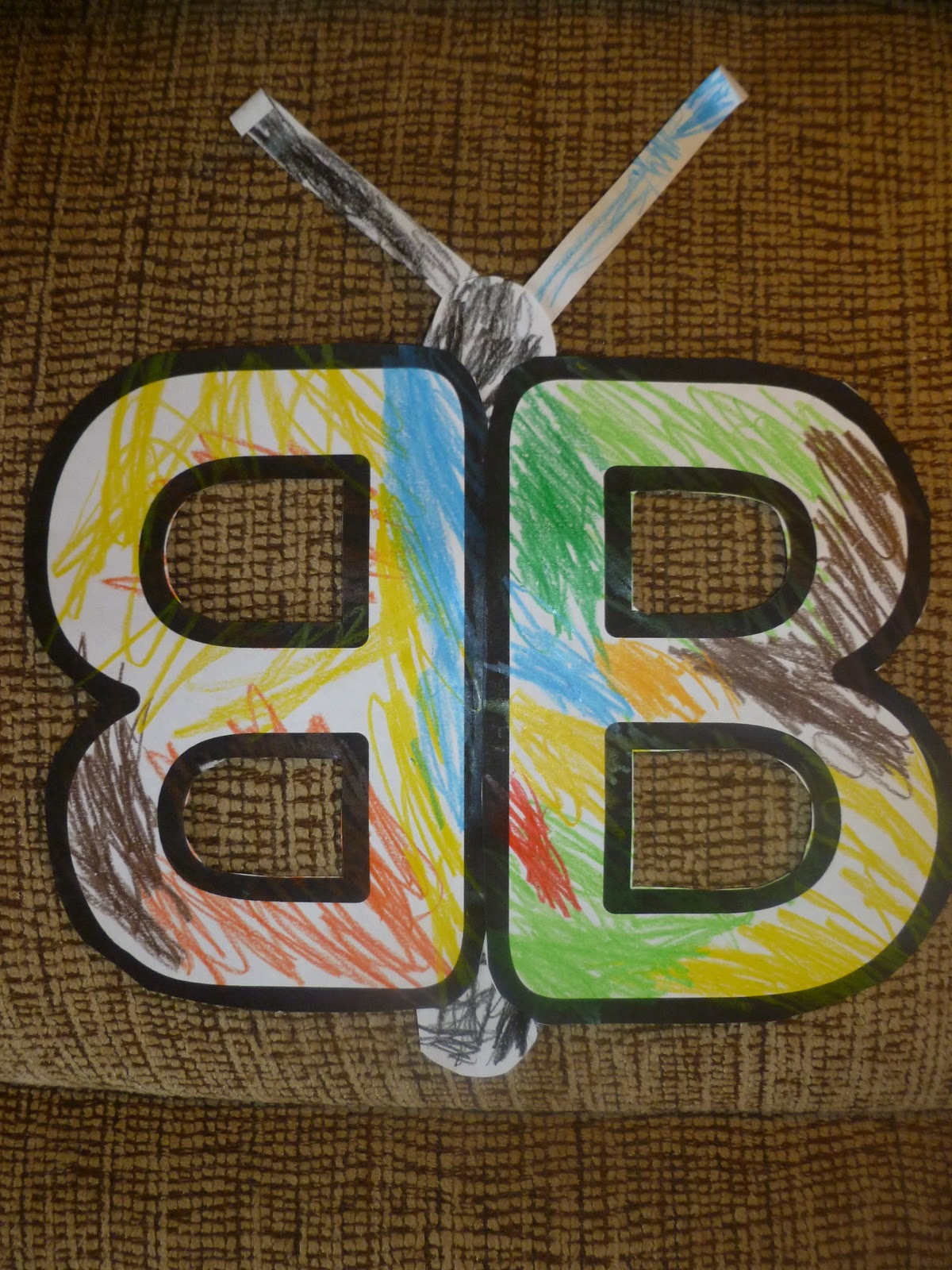 letter b crafts for preschool my son is now learning letter