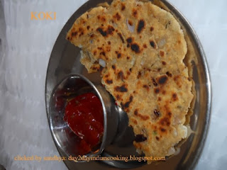 koki sindhi flat bread recipe | breakfast recipe |  north indian food