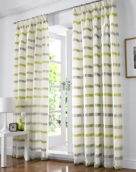 Kanes Furniture: New Modern Voile Curtains Design Ideas 2011