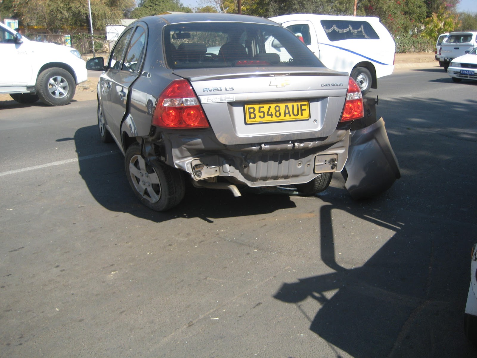 Rands Mission Car Accident