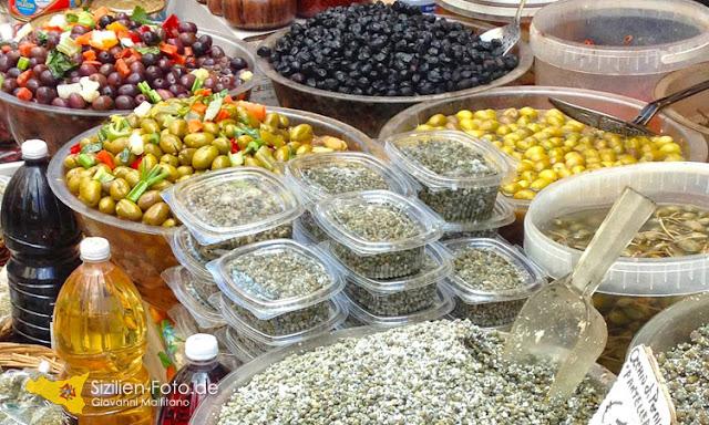 Fischmarkt und Tagesmarkt in Catania