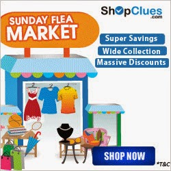 Shopclues.com Sunday Flea Market Deals And Get upto 90% off on Everything – Buytoearn