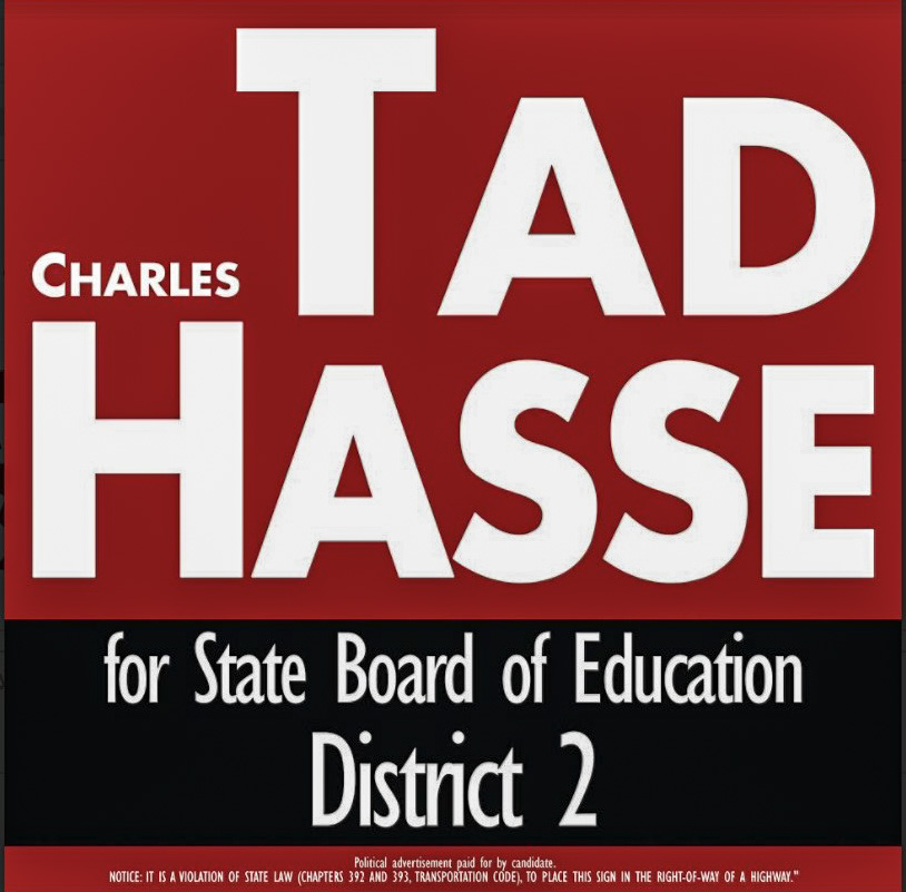 VOTE TAD 4 STATE ED BOARD