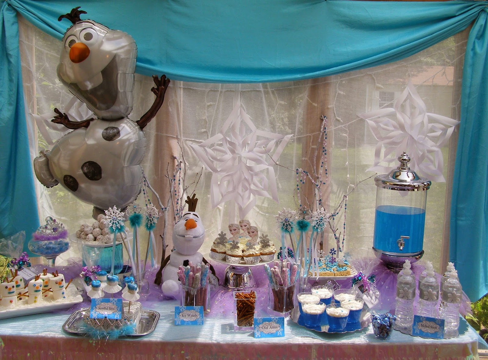 The Princess Birthday Blog: Frozen Party Food Ideas ...