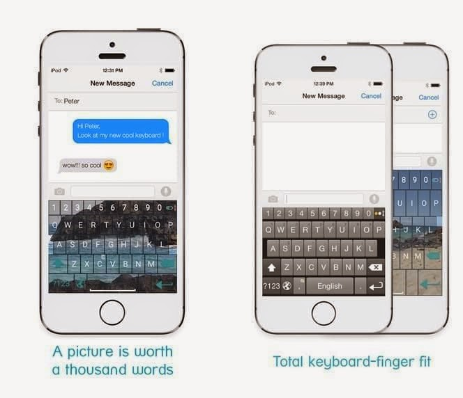 Teclado alternativo A.I. Type Keyboard para Android e iOS