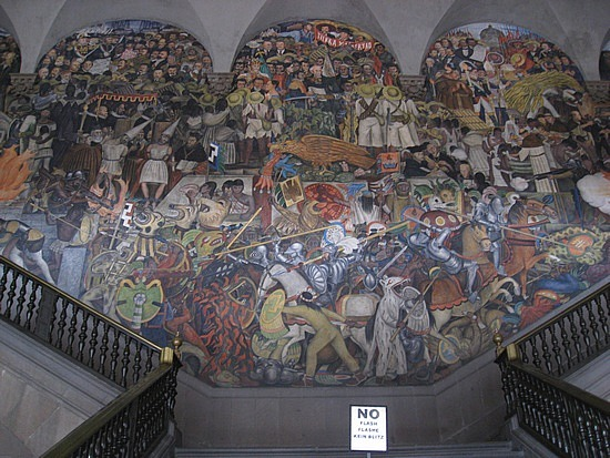 Thinking too much for Diego rivera first mural