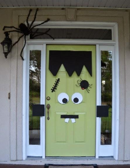 Halloween - puerta frankenstein