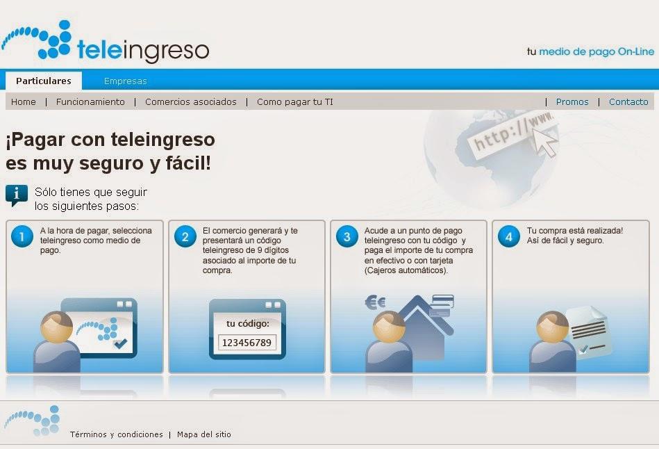 Teleingreso Screen