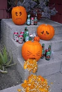 Too much halloween