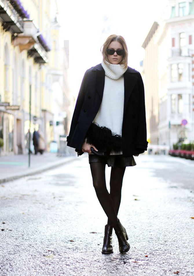 Fashion Attacks Pinterest turtle neck inspiration