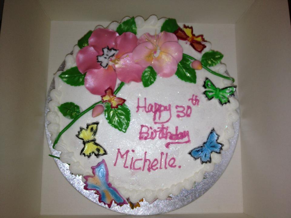 Children S Birthday Cakes By Michele Pictures : Fluttering Butterflies: AHHH! It s my 30th birthday!